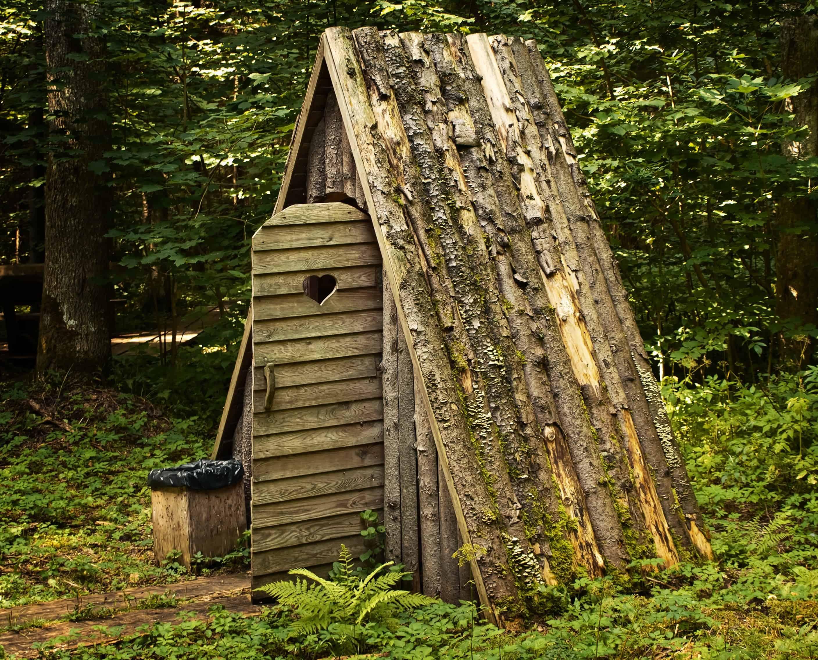 Деревянные туалеты как строить в картинках
