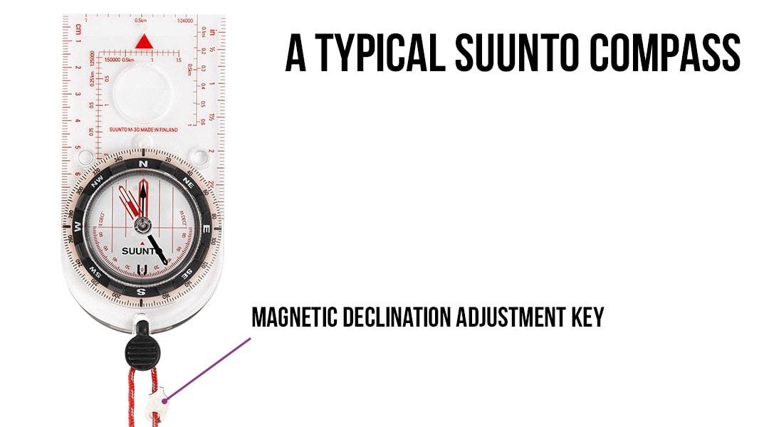 PNG SUUNTO Compass Declination Adjustment Key